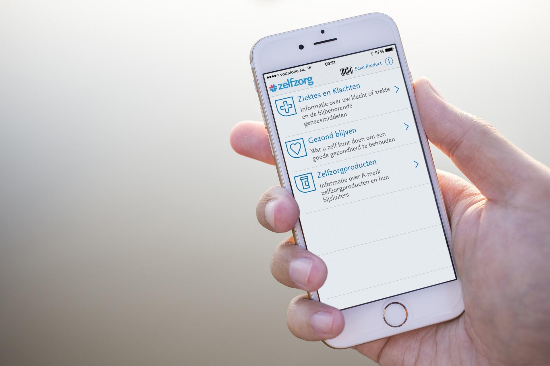 Zelfzorg app iPhone 6